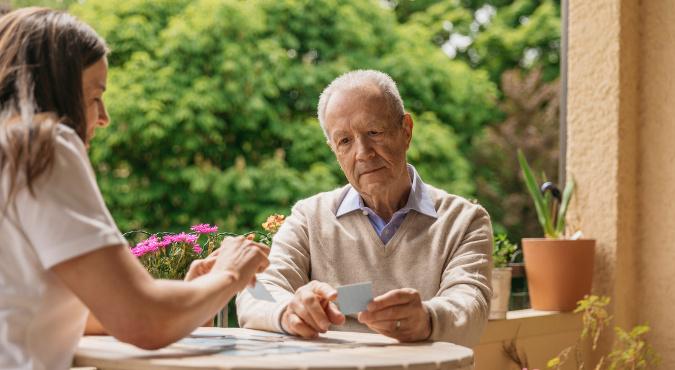 Betreuung von Menschen mit Demenz